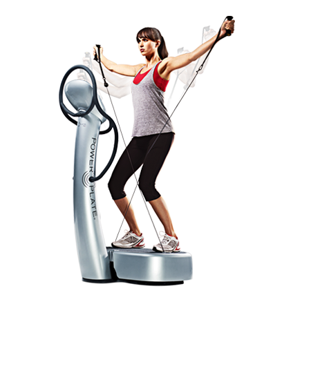 Power Plate promotion